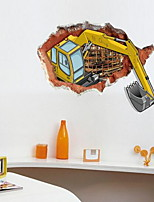 Ocio Pegatinas de pared Calcomanías de Aviones para Pared Calcomanías 3D para Pared Calcomanías Decorativas de Pared,Vinilo Material