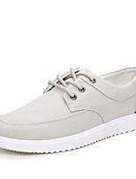 Women's Sneakers Spring Summer Fall Winter Comfort Light Soles Canvas Outdoor Office & Career Casual Flat Heel Split JointLight Blue Navy