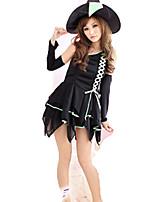 Drakter Søt Lolita Lolita Cosplay Lolita-kjoler Mote Kort Ærmet Kort / Mini Til