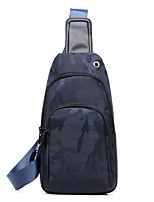 Men PU Canvas Sports Casual Outdoor Office & Career Sling Shoulder Bags Pool