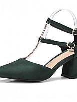 Damen-High Heels-Kleid Lässig Party & Festivität-Kunstleder-Blockabsatz-Komfort-
