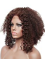 Fashion kinky curly short Lace Front Costume Wig for black women