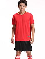 MTIGER SPORTS® Men's Soccer Tracksuit Breathable Comfortable Summer Sports Terylene Football/Soccer