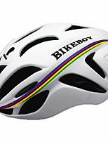 Sportif Homme Unisexe Vélo Casque 18 Aération Cyclisme Cyclisme Cyclisme en Montagne L: 58-61CM M: 55-58CM Polycarbonate EPSJaune Blanc