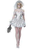 Cosplay Kostýmy Duch cosplay Festival/Svátek Halloweenské kostýmy Módní Leotard/Kostýmový overal Doplňky do vlasů Halloween Karneval