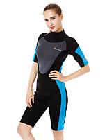 унисекс 3mm Гидрокостюмы Быстровысыхающий Ультрафиолетовая устойчивость Изолированный Защита от излучения Нейлон Неопрен Водолазный костюм
