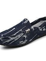 -Для мужчин-Для прогулок Повседневный Для занятий спортом-Полотно-На плоской подошве-Удобная обувь Мокасины-Мокасины и Свитер