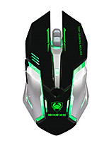 High Quality 6 Button 2000DPI Adjustable USB Wired Mouse Gaming Mouse for Computer Laptop LOL Gamer