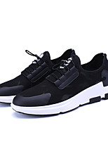 Men's Sneakers Spring Fall Comfort Tulle Casual Lace-up Red Black Walking
