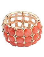Euramerican Squares  Elastic Bracelet Women's Daily Bracelet Bangles Movie Jewelry
