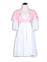 /שמלותחתיכה אחת לוליטה מתוקה לוליטה Cosplay שמלות לוליטה אופנתי שרוולים קצרים קצר / מיני שמלה ל