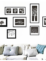 The New Art Frame Black Sitting Room Adornment Bedroom Wall Stickers