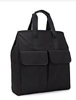 Unisex Oxford Cloth Casual Tote Black