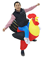 Inflatable Rooster Chicken Costume Halloween Party Fancy Costume Animal Costume for Adults Carnival Costume Birthday Gift
