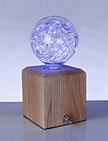 2W E27 Lâmpada Redonda LED G95 33 LED de Alta Potência 150 lm Azul V 1 pç