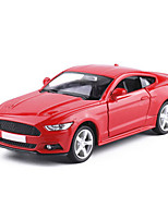 Race Car Pull Back Vehicles Car Toys 1:18 ABS Plastic Red