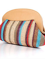 Women Straw Outdoor Clutch All Seasons