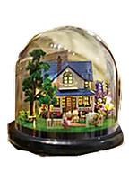 Dollhouse Leisure Hobby Circular Wood