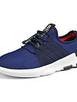 HombreConfort-Zapatillas de deporte-Informal-PU-Negro Gris Azul