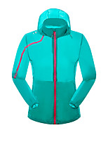 LEIBINDI® Women's Jacket Tops Hiking Fishing Breathable Quick Dry Windproof Sunproof Sunscreen Windproof Light Jacket