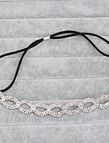 Legierung Kopfschmuck-Hochzeit Besondere Anlässe Freizeit im Freien Stirnbänder Kopfkette Haar-Werkzeug 1 Stück