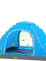 LYTOP/飞拓 3-4 persons Tent Single Fold Tent One Room Camping Tent Fiberglass OxfordWaterproof Breathability Ultraviolet Resistant