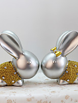 Rabbit Home Decoration Animals Polyresin Modern/Contemporary RetroCollectibles Indoor Decorative Accessories