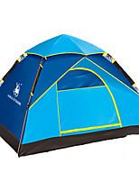 徽羚羊 2 persons Tent Single Automatic Tent One Room Three Rooms Camping Tent OxfordWaterproof Breathability Ultraviolet Resistant Windproof