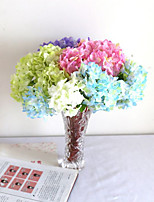 1PC Branch Polyester Plastic Others Tabletop Flower Artificial Flowers