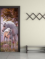 Animales Pegatinas de pared Calcomanías 3D para Pared Calcomanías Decorativas de Pared,Vinilo Material Decoración hogareñaVinilos