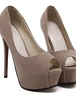 Women's Heels Spring Slingback PU Casual