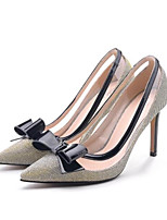 Women's Heels Summer Slingback PU Casual Black
