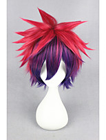Short no game no life-sora couleur mixte 14inch anime cosplay perruque cs-185a