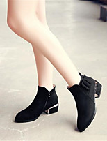 Femme-Décontracté--Gros Talon Block Heel-A Bride Arrière-Chaussures à Talons-Polyuréthane