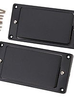 2pcs 1 Set Black Sealed Humbucker Pickup Set For LP Electric Guitar