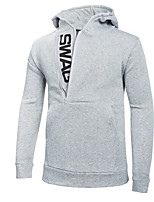 Men's Casual/Daily Sweatshirt Solid Round Neck Micro-elastic Polyester Long Sleeve