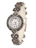 Women's Bracelet Watch Quartz Alloy Band Silver