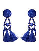 Women's Drop Earrings Jewelry Tassels Fashion Bohemian Alloy Jewelry Jewelry For Party Gift Casual