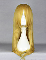 Synthetic Anime Kousaka kirino long Blonde Cosplay Wig