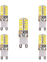 5pcs YWXLight® G9 G4 E17 E12 3W 5730SMD 40LED 200-300lm Warm White Cool White LED Silica Gel Lamp (AC 220V/AC 110V)
