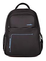 Hosen hs-309 15 polegadas laptop saco unisex nylon impermeável respirável pacote de negócios saco de ombro para computador ipad e tablet