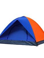 3-4 personnes Tente Double Tente pliable Une pièce Tente de camping <1000mm Camping Voyage-