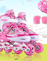 Kinder Inline-Skates Polsterung Atmungsaktiv Wasserdicht Komfortabel Blau/Rote/Rosa