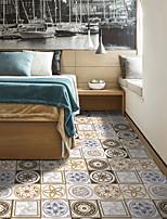Cor clara teste padrão decorativo a telha de cerâmica que fura decorativo pvc auto-vara à prova de água do quarto e da sala de estar