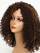 Black Color Wigs For Black Women Curly Synthetic Women European Wigs