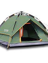 LYTOP/飞拓 3-4 personnes Tente Double Tente pliable Une pièce Tente de camping Aluminium OxfordEtanche Respirabilité Résistant aux