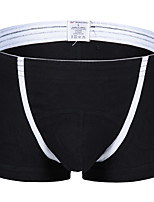 Men's Print Boxers UnderwearCotton Polyester