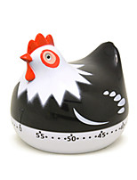 Cute Cartoon Little Chicken Mechanical Kitchen Timer