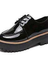 Women's Boots Spring Summer Fall Winter Creepers PU Outdoor Office & Career Casual Flat Heel Split Joint Walking