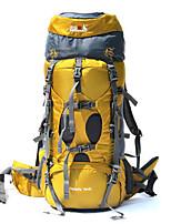 75 L Sac à Dos de Randonnée Escalade Sport de détente Camping & Randonnée Multifonctionnel